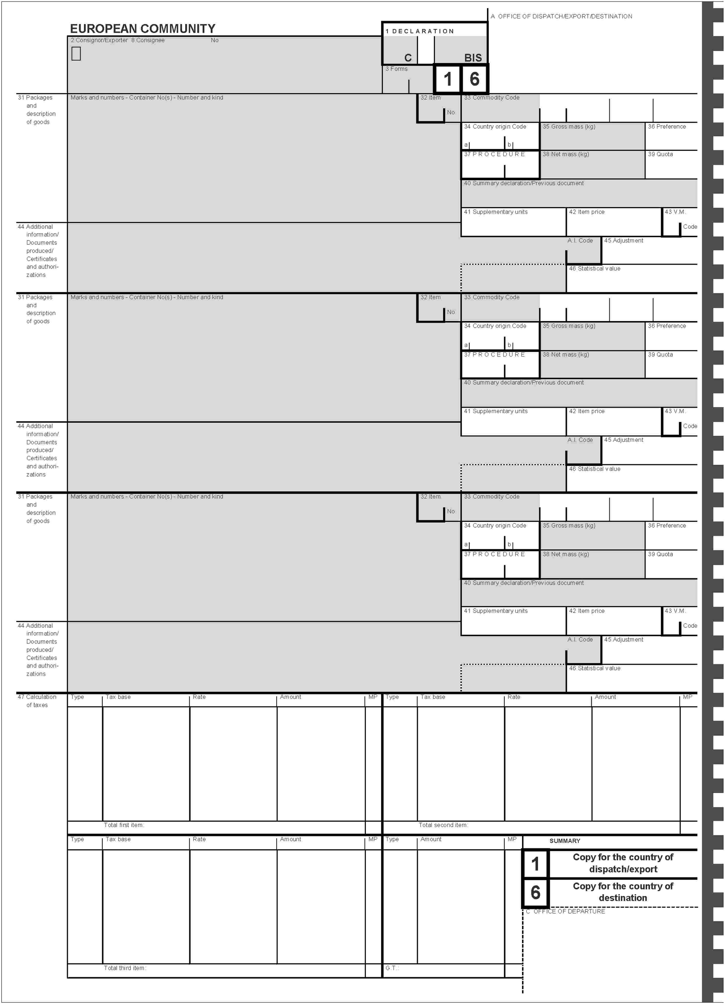 EURLex 01993R245420060101 EN EURLex – Country of Origin Document