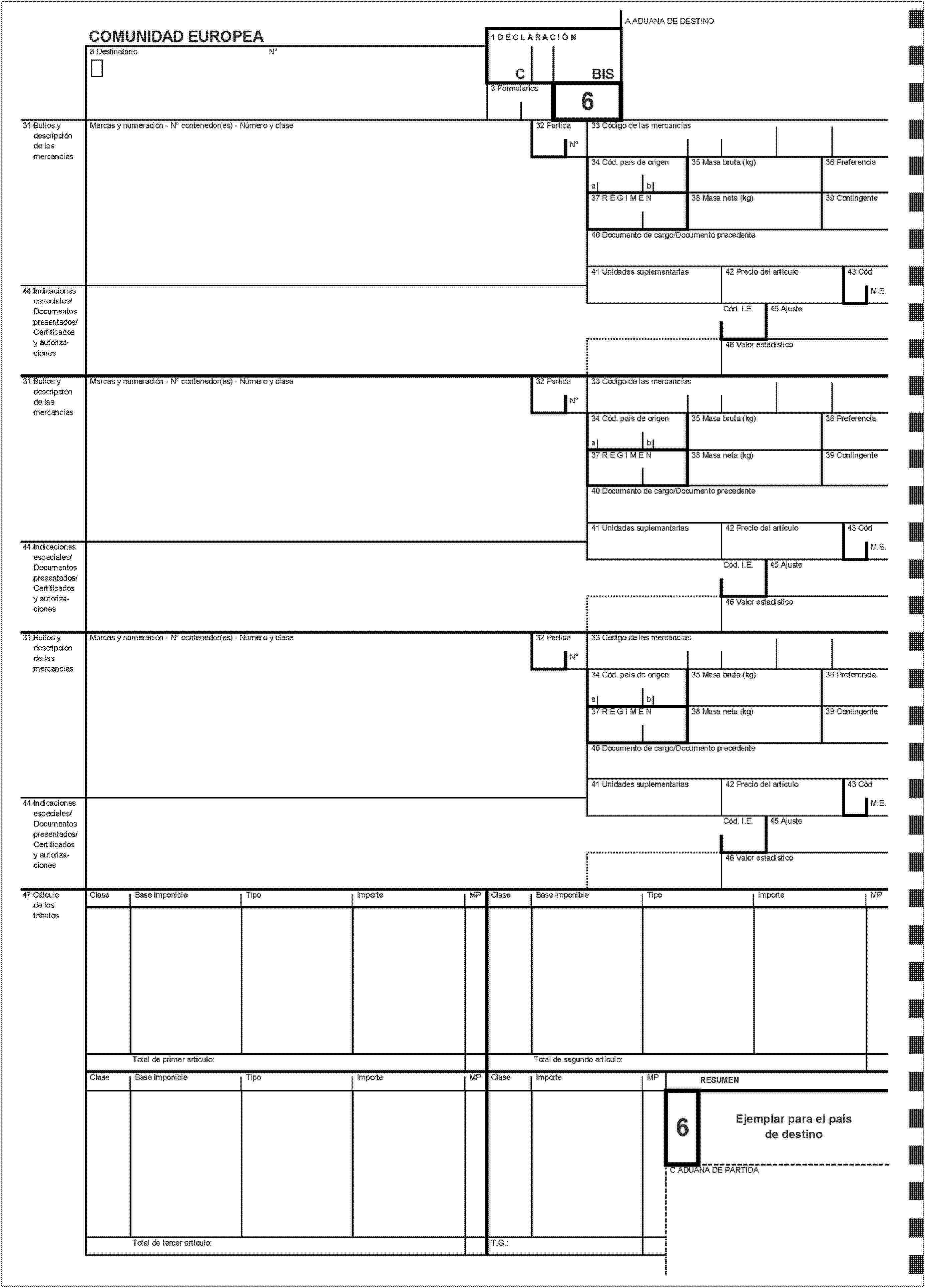 EUR-Lex - 01993R2454-20090101 - ES - EUR-Lex