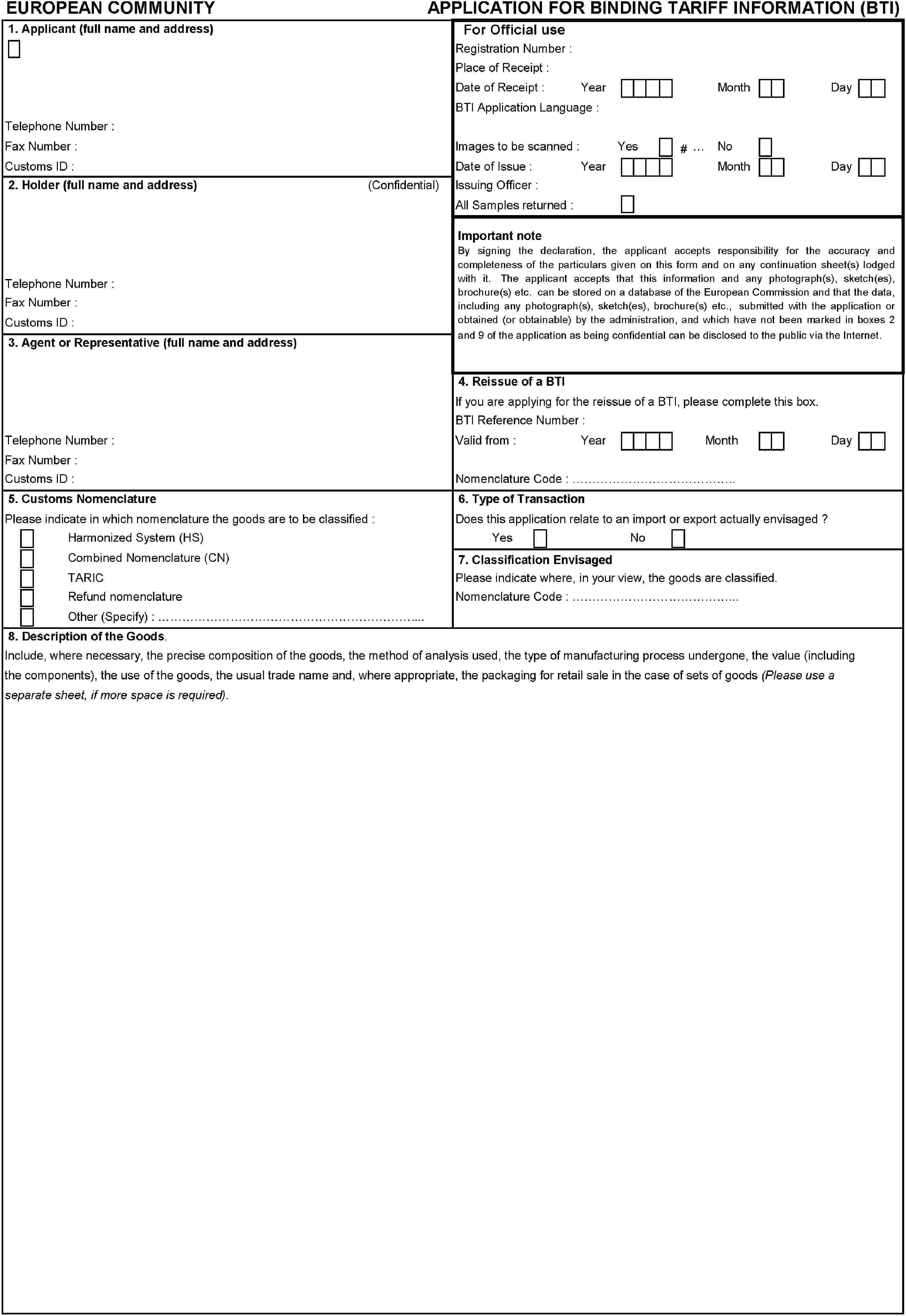 Eur Lex 01993r2454 20100701 En Bleank O View Topic Brush Request Circuit Pattern