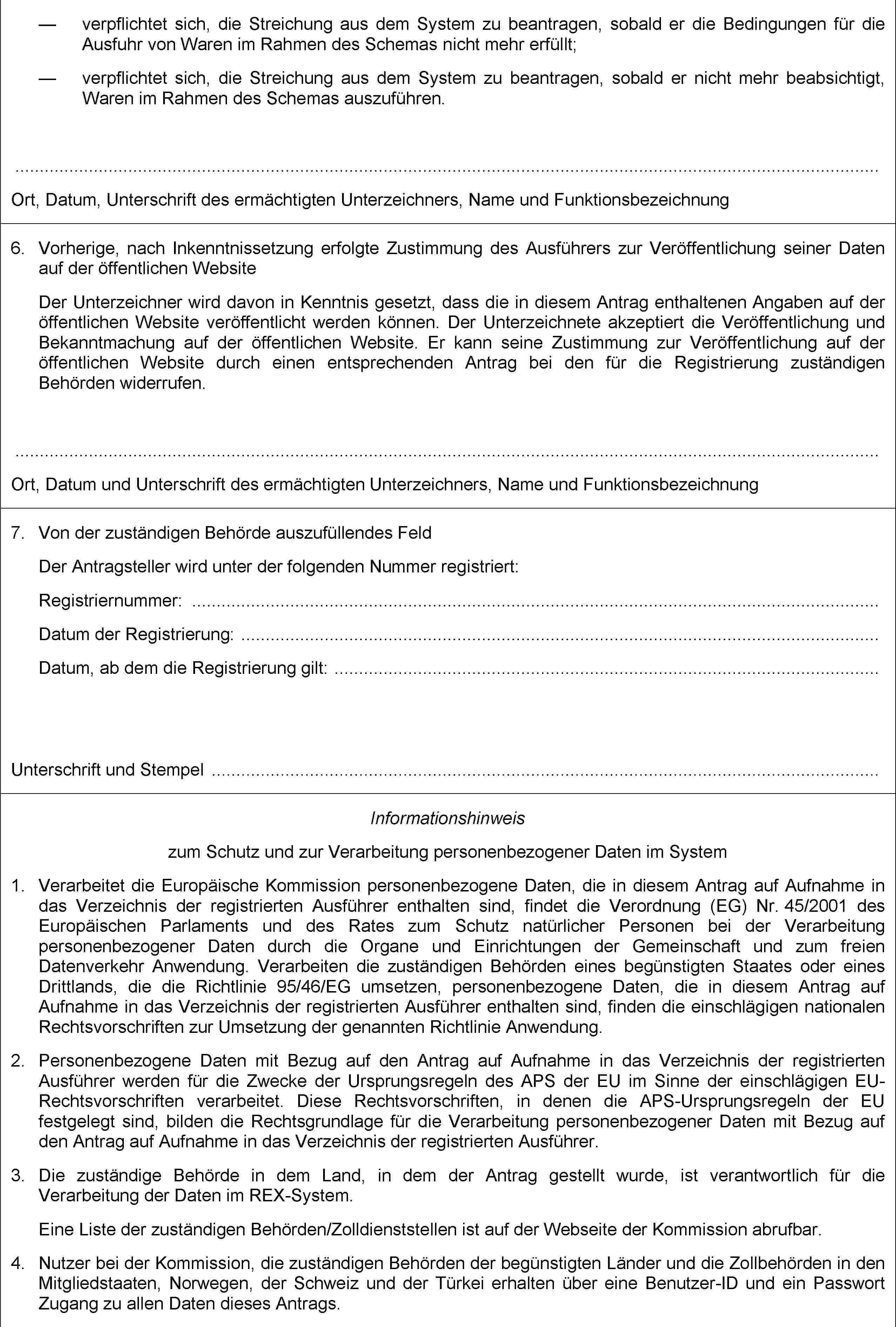Großartig Vorlageformular Für Studentenregistrierung Zeitgenössisch ...