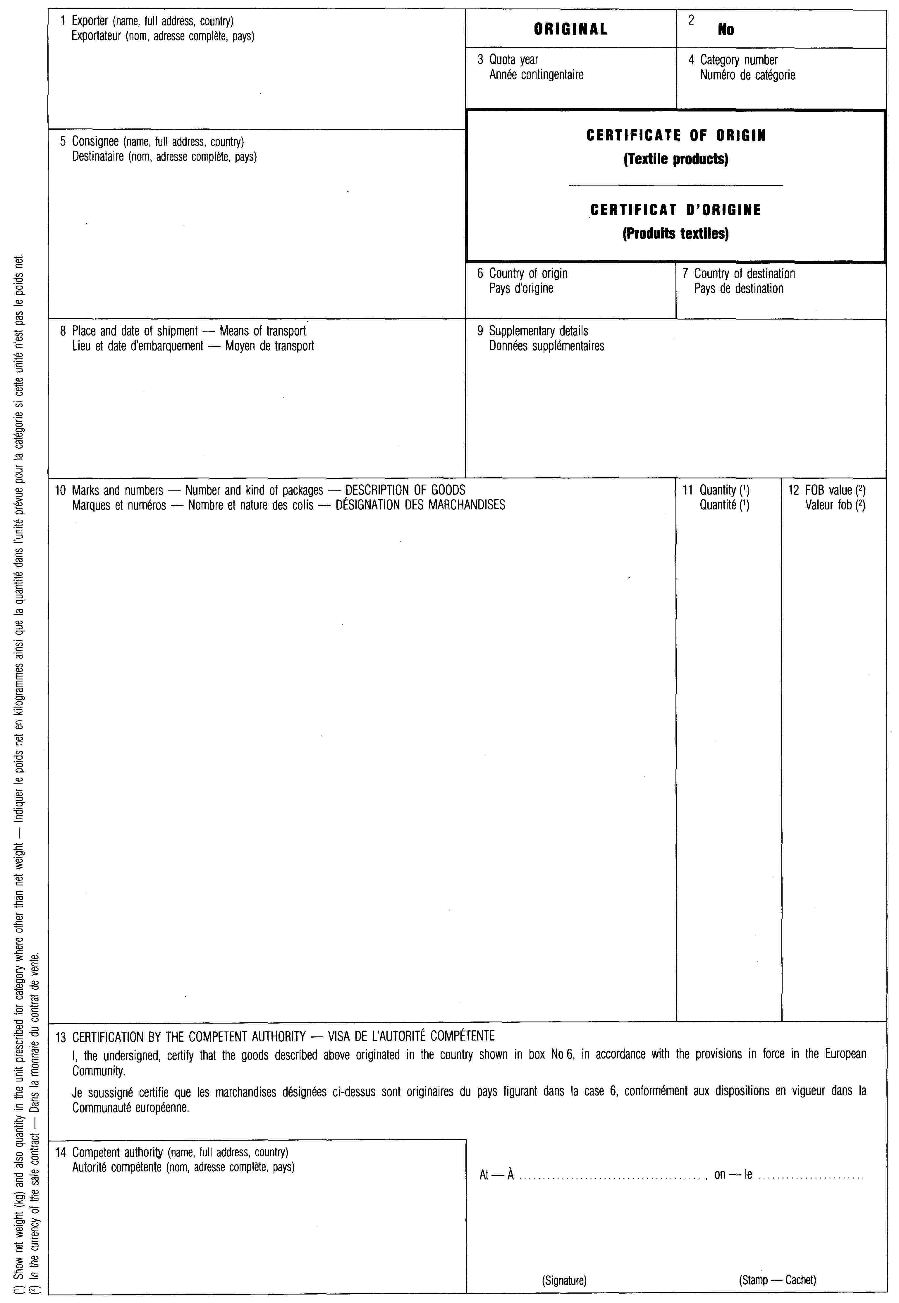 EUR-Lex - 01993R3030-20040919 - EN - EUR-Lex