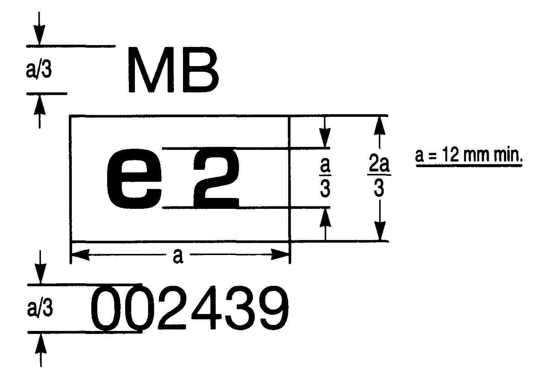 Eur Lex 01997l0024 20131211 En Fig 2 Radialply Tire Rotation Diagram Figure 3