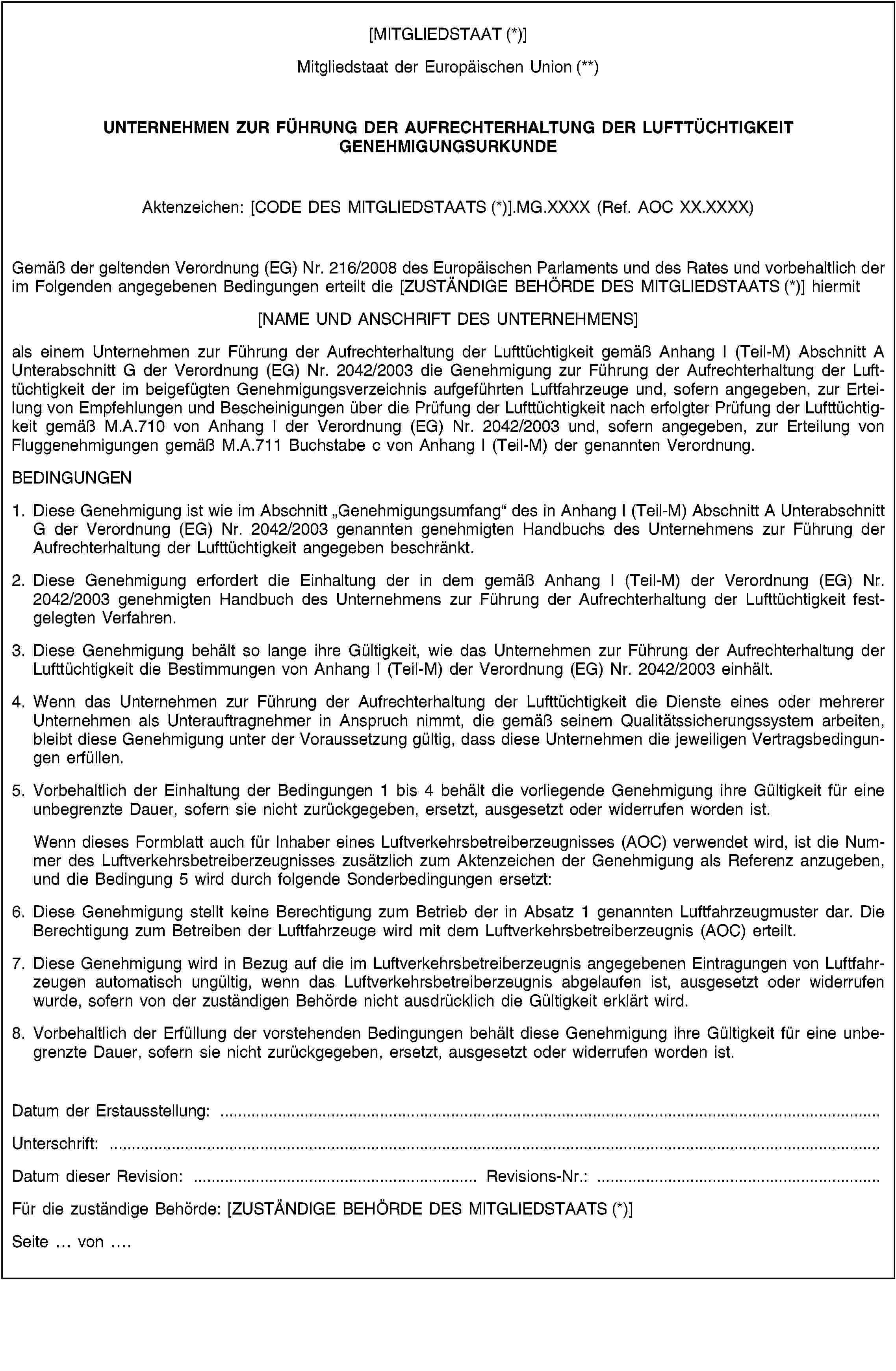 EUR-Lex - 02003R2042-20101028 - EN - EUR-Lex