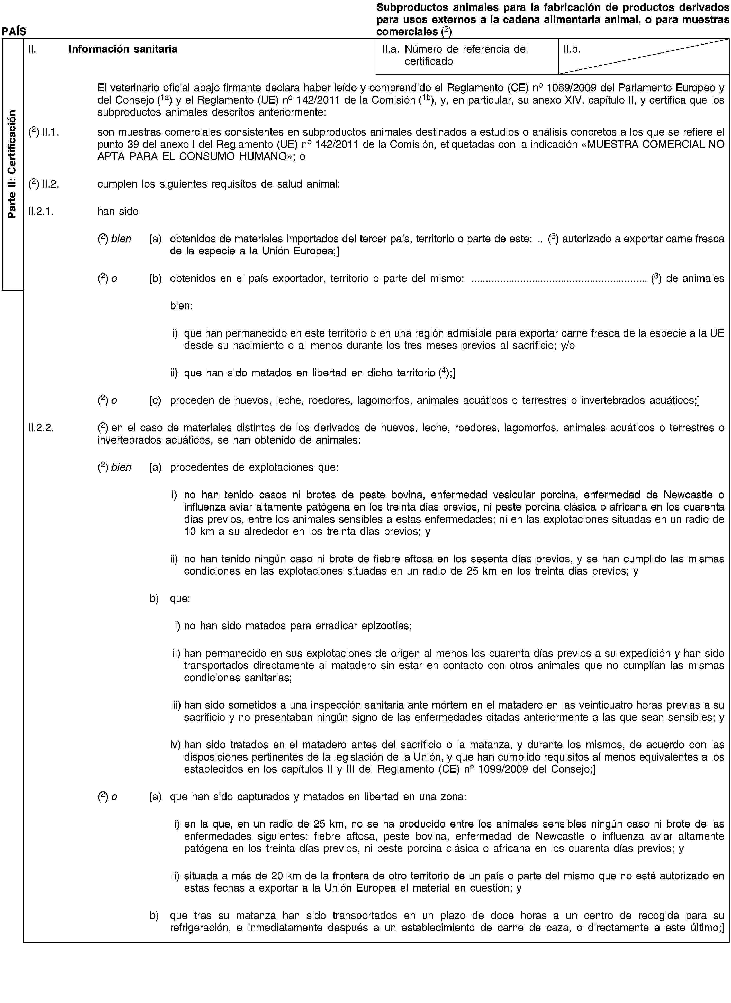 EUR-Lex - 02011R0142-20140715 - EN - EUR-Lex