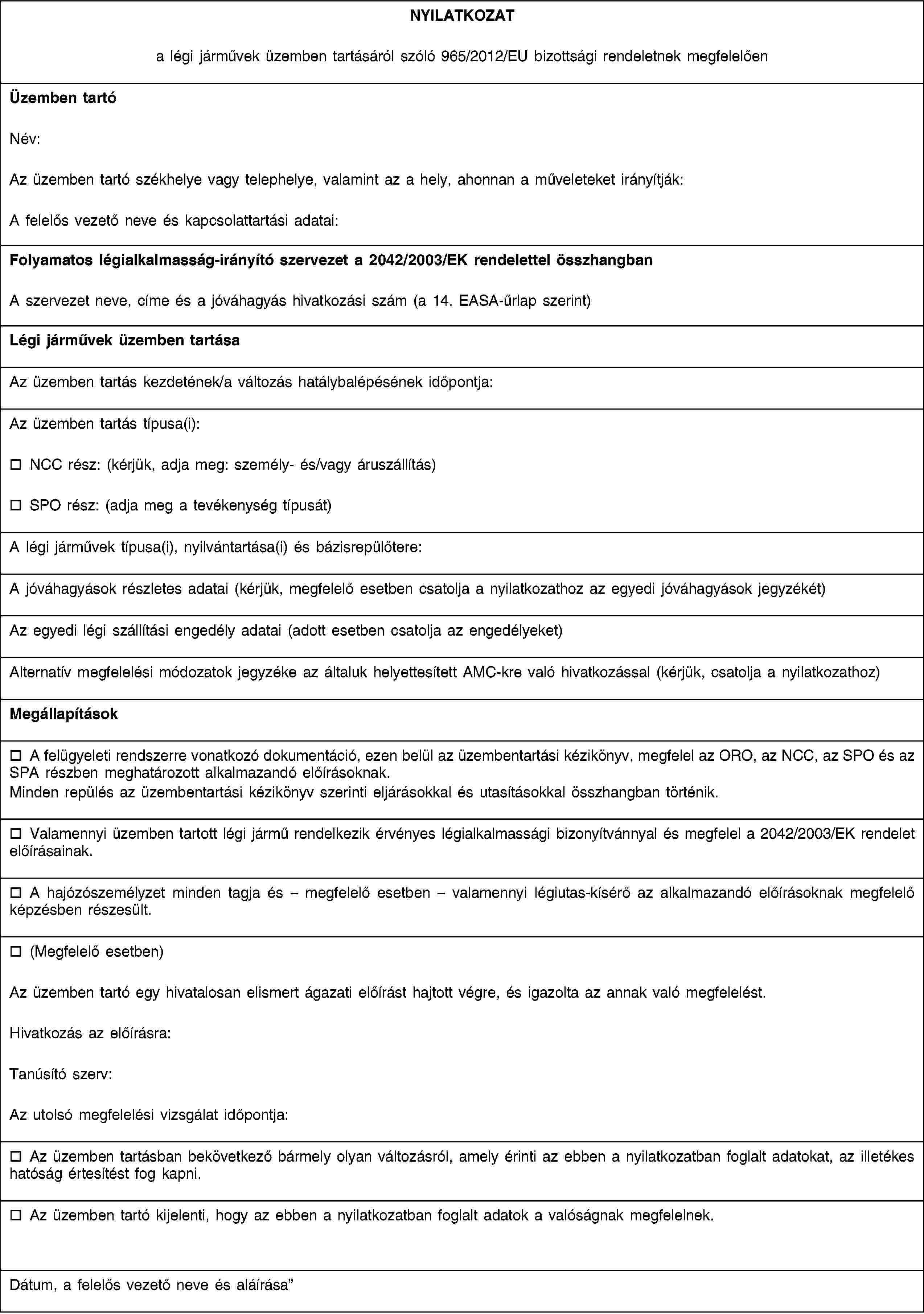 EUR-Lex - 02012R0965-20140701 - EN - EUR-Lex 9d8ab461c1