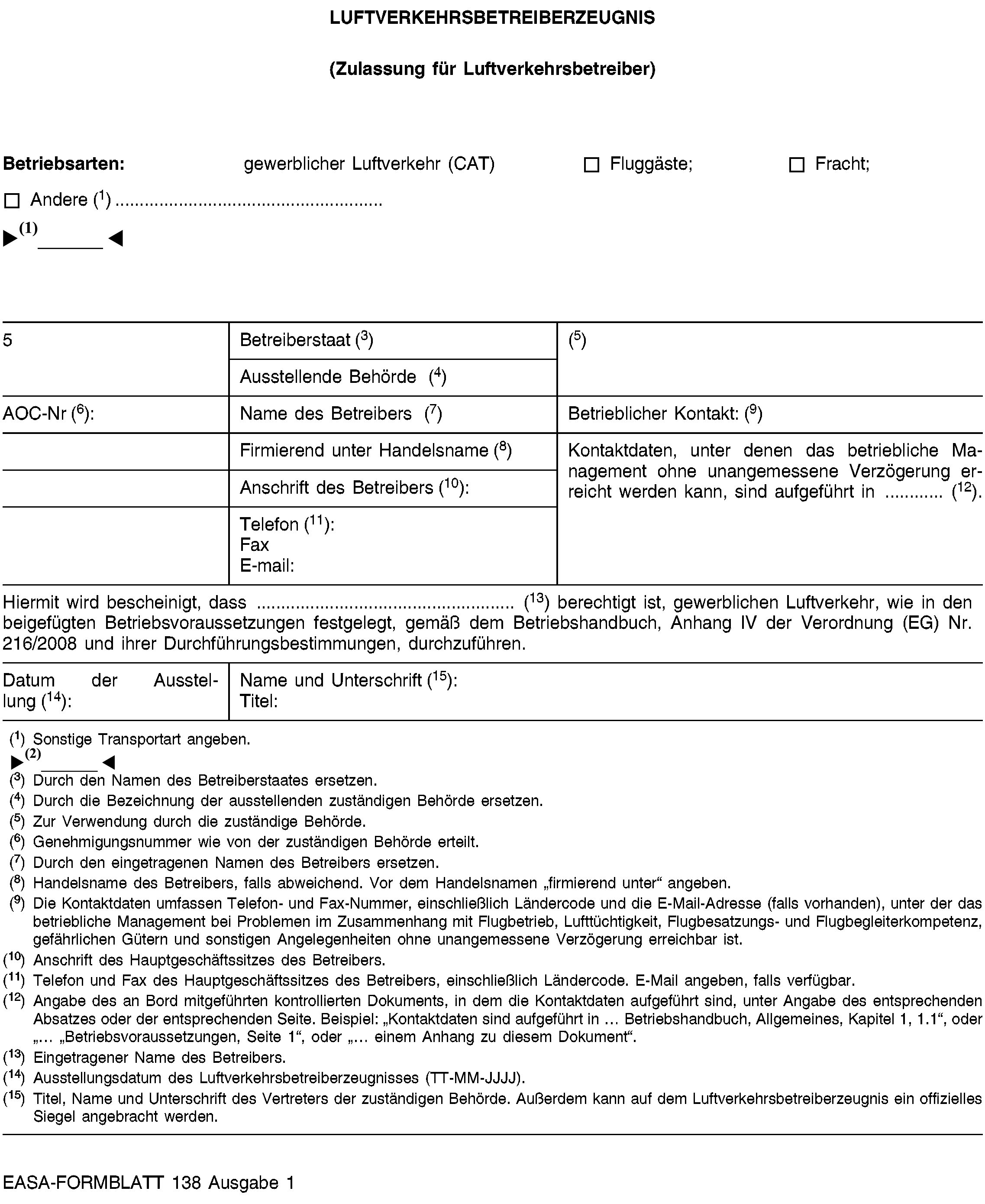 EUR-Lex - 02012R0965-20170322 - EN - EUR-Lex