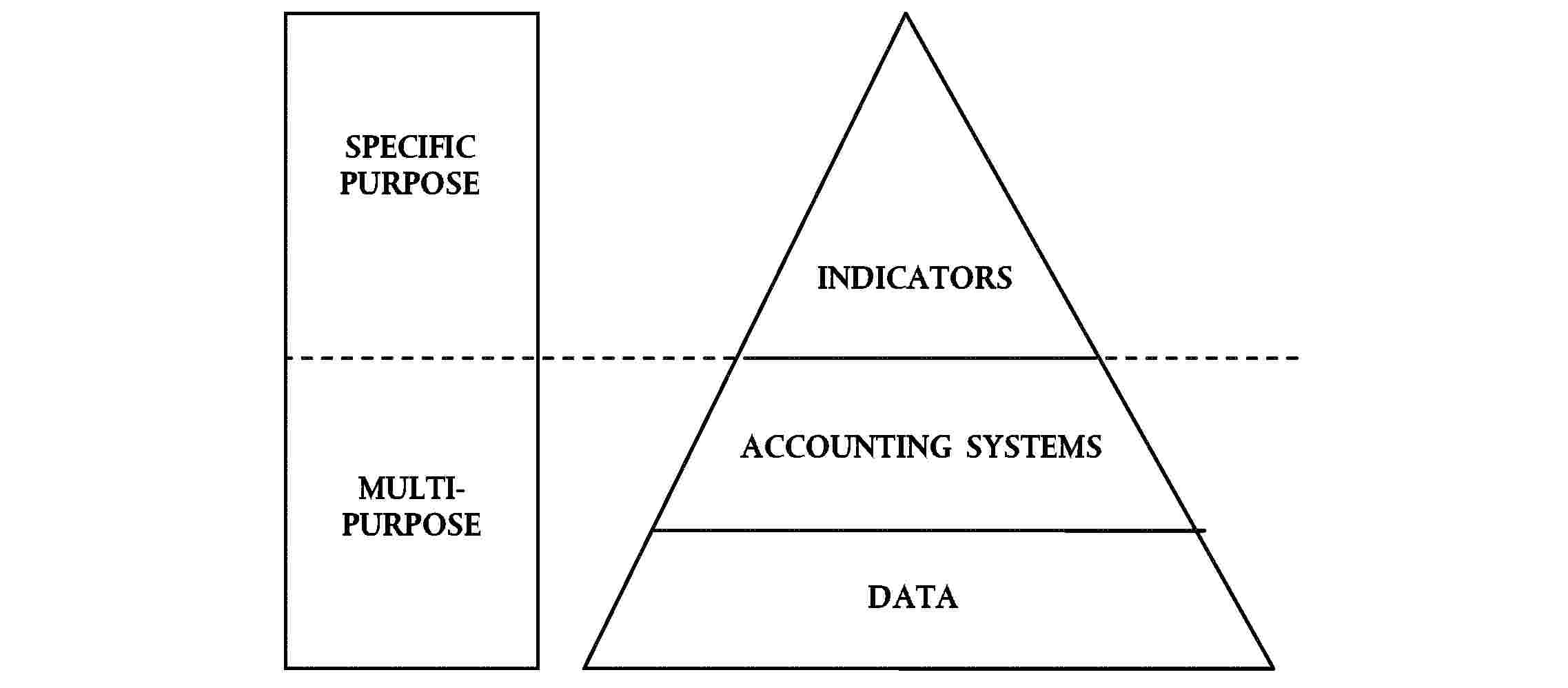 SPECIFIC PURPOSEINDICATORSMULTIPURPOSEACCOUNTING SYSTEMSDATA