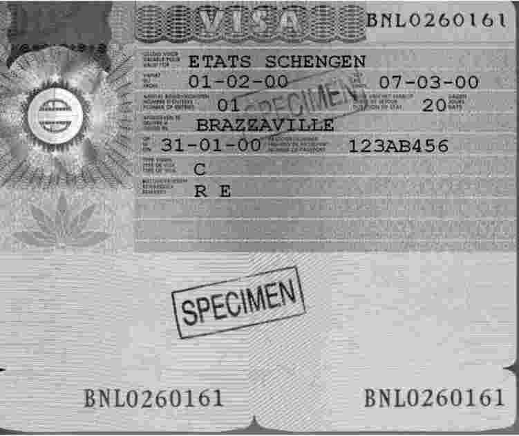 The Above Visa Was Issued By A Consular Post Of A Schengen State Representing Another Schengen State