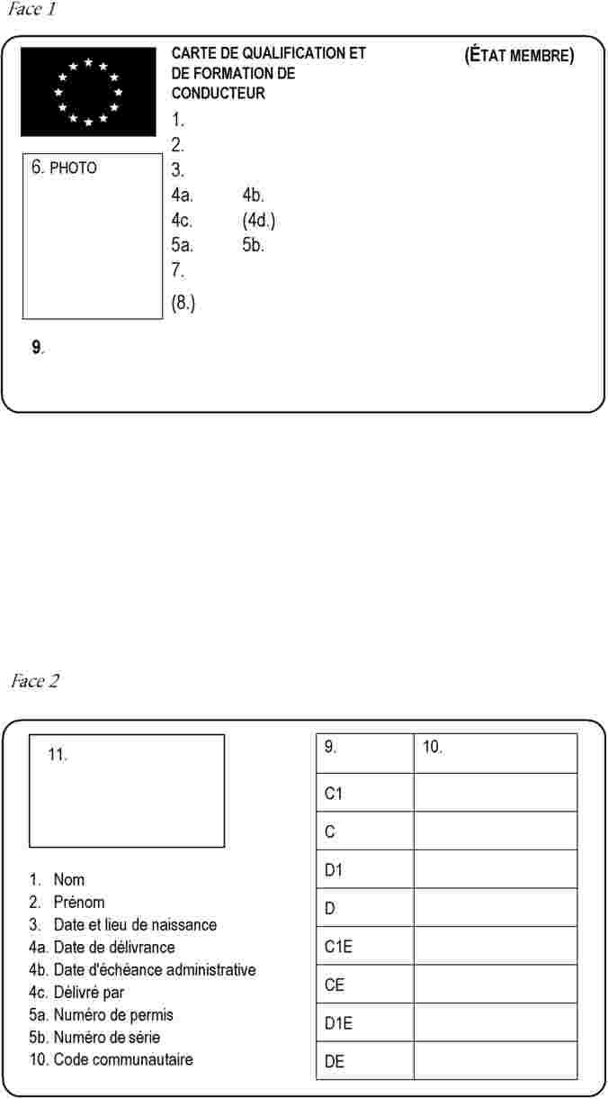 Carte De Qualification De Conducteur 95.L 2003226fr 01000401 Xml