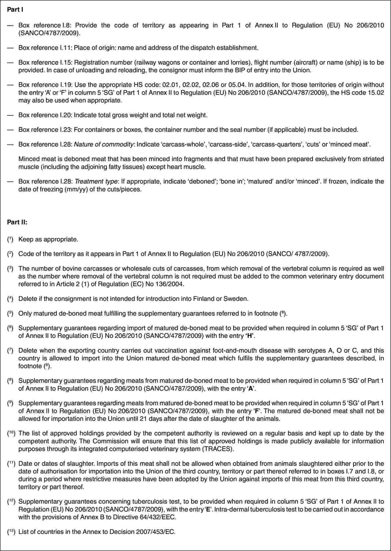 eur lex 32010r0206 en eur lex - Resume Without Dates