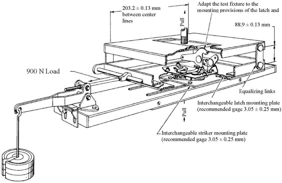 Eur Lex 42010x051301 En In Order To Remove The Latch Assembly And Or Door Ajar Switch Image