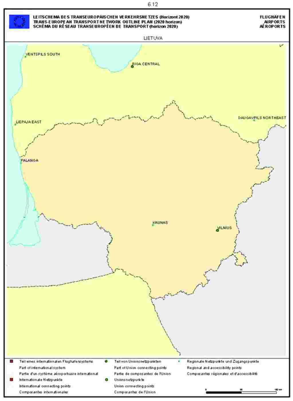 Cartina Spagna Aeroporti