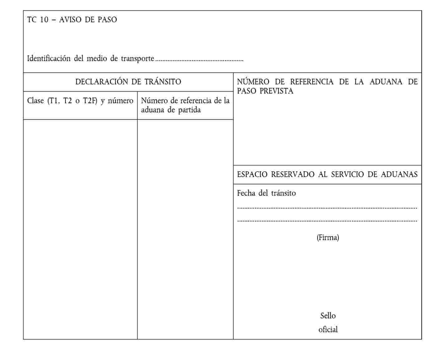 EUR-Lex - 32015R2447 - ES - EUR-Lex