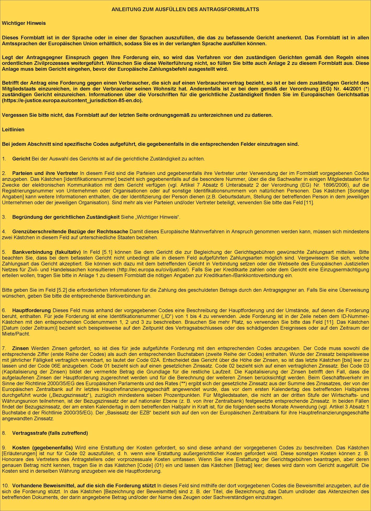 Datierung von juristischen Dokumenten